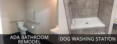 Dog Wash And Bathroom